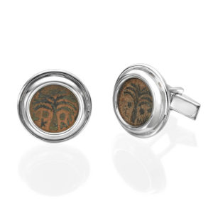 Authentic Roman Coins Sterling Silver Cufflinks - Baltinester Jewelry